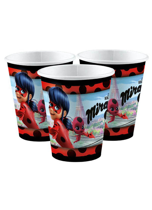 Miraculous Party Paper Cups 8pk