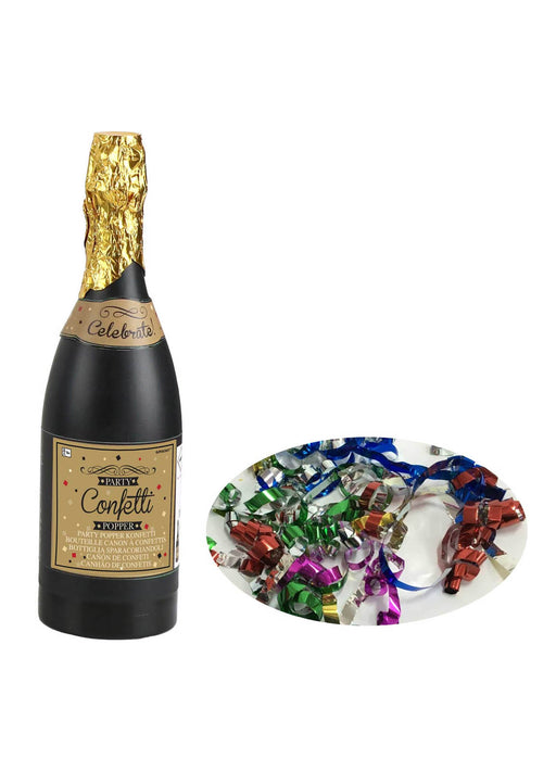 Champagne Bottle Confetti Popper
