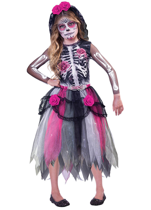 Day of the Dead Spirit Costume Child