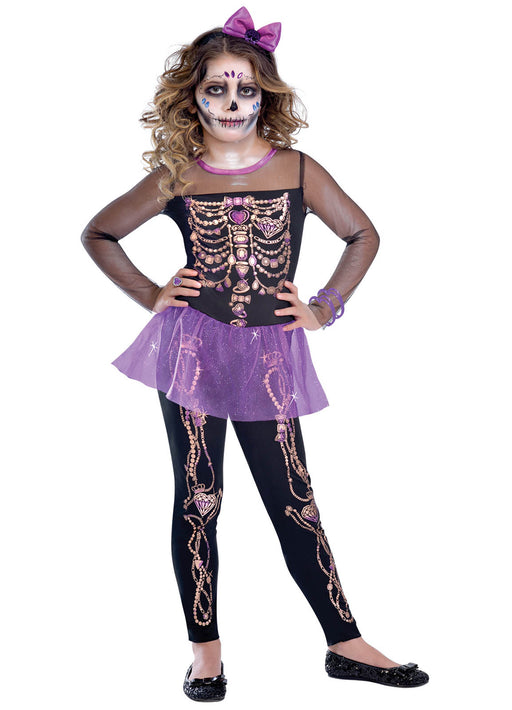 Bling Bones Cutie Costume Child