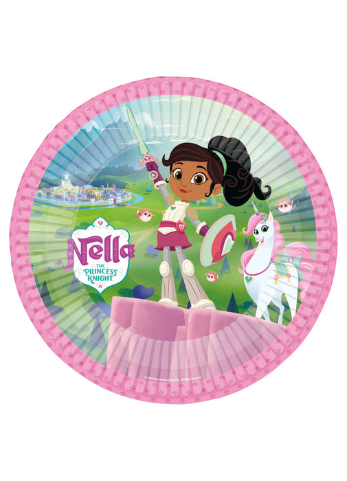 Nella the Knight Plates 8pk