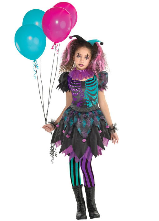 Haunted Harlequin Costume Child
