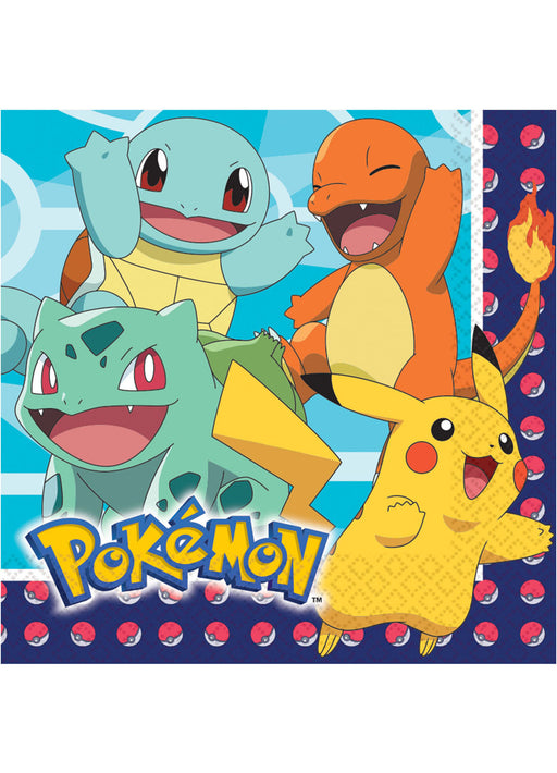 Pokemon Lunch Napkins 16pk