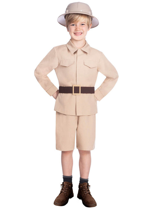 Safari Boy Costume Child