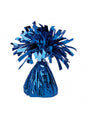 Blue Metallic Foil Balloon Weight