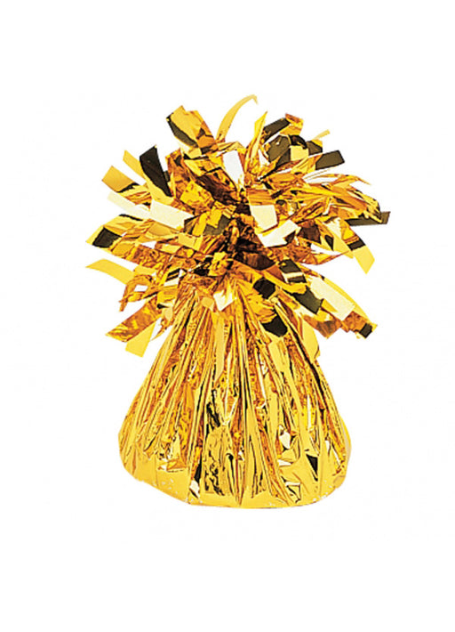 Gold Metallic Foil Balloon Weight