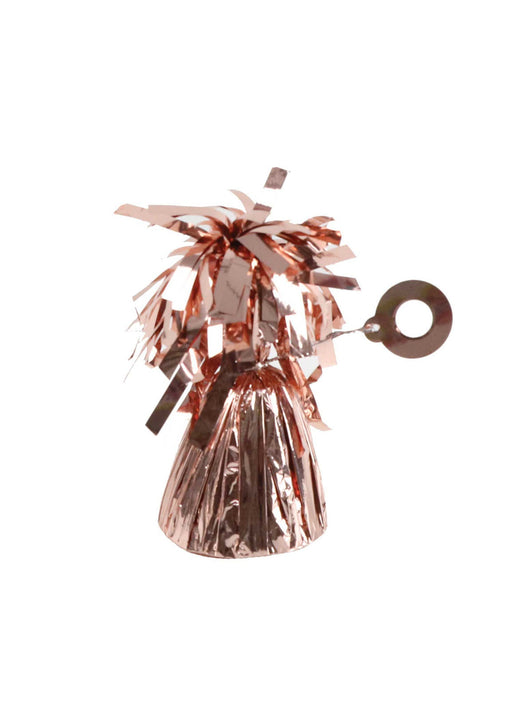 Rose Gold Metallic Foil Balloon Weight