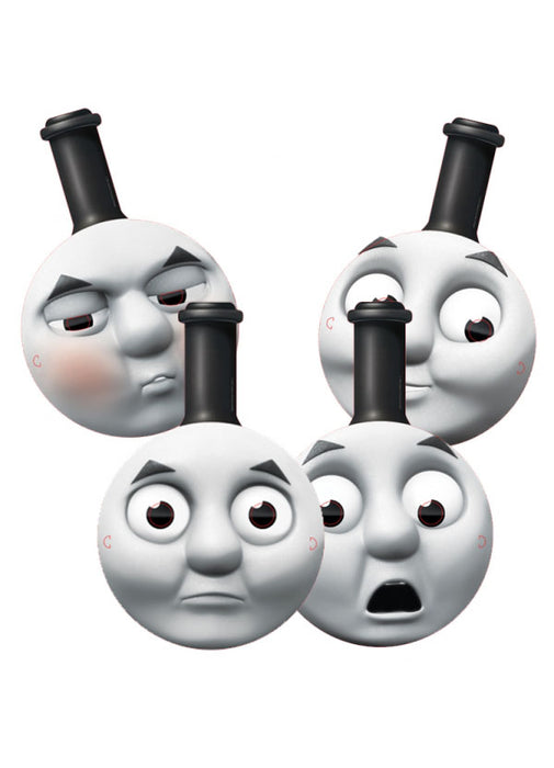 Thomas the Tank Engine Party Card Face Masks 4pk