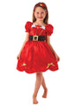 Miss Santa Costume Child