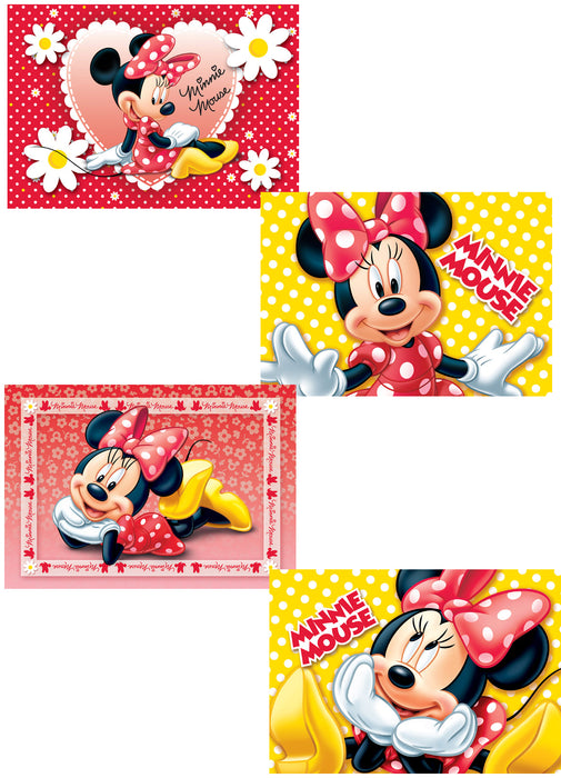 Minnie Mouse Party Jigsaw Puzzles 4pk