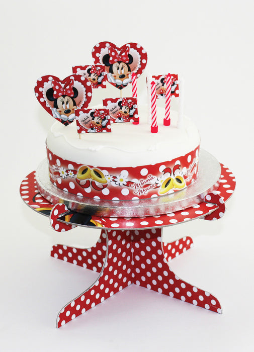 Minnie Mouse Party Cake Decorating Kit