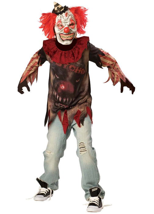 Sideshow Psycho Clown Teen Costume
