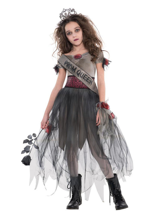 Prombie Queen Costume Child