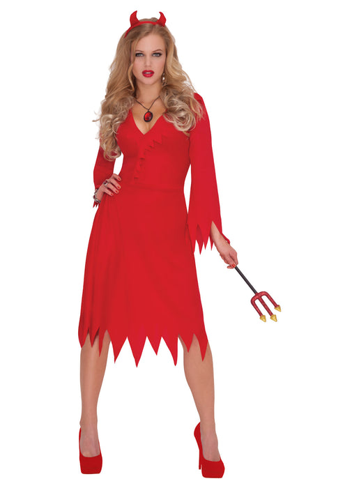 Red Hot Devil Costume Adult