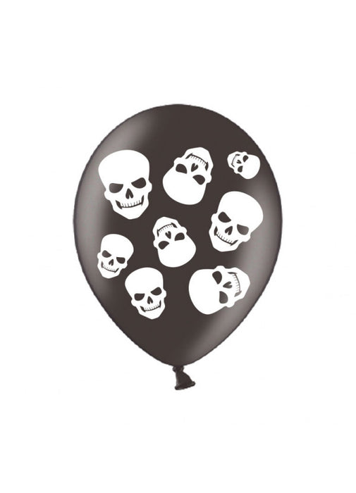 Halloween Fright Night Latex Balloons 6pk