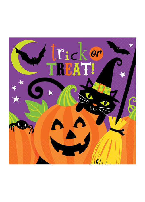 Witch's Crew Napkins 16pk
