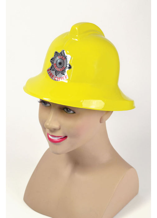 Yellow Fireman's Hat