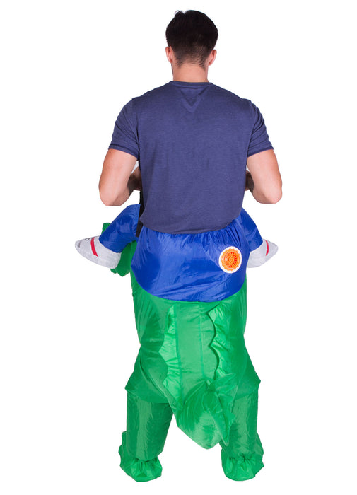 Inflatable Ride On Croc Costume Adult