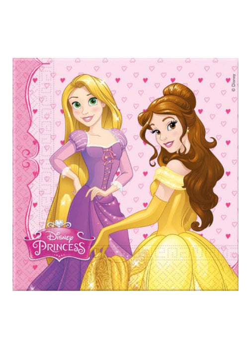 Disney Princess Napkins 20pk