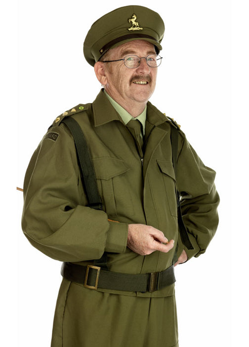 British Homeguard Dad's Army Costume Adult