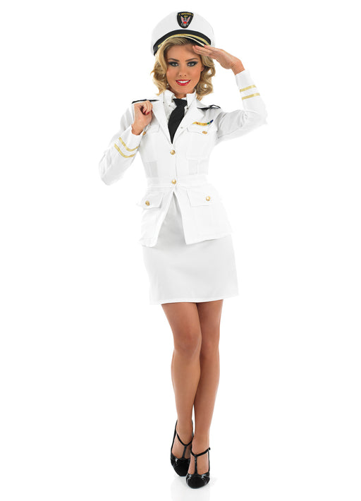 1940's Lady Naval Officer Adult