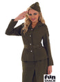 World War 2 Army Girl Adult