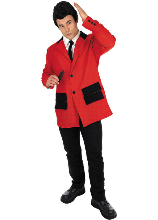 Red Teddy Boy Adult