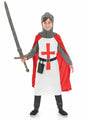 Crusader Knight Costume Child