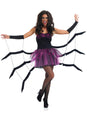 Black Widow Spider Fancy Dress Adult