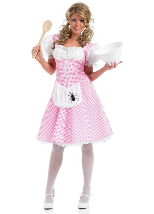 Longer Length Miss Muffet Costume Adult