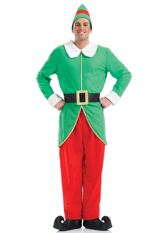 Elf Buddy Costume Adult Party Britain