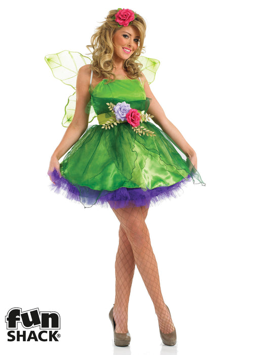 Green Fairy Costume Adult  sc 1 st  Party Britain & Green Fairy Costume Adult u2014 Party Britain