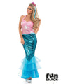 Pink Mermaid Costume Adult