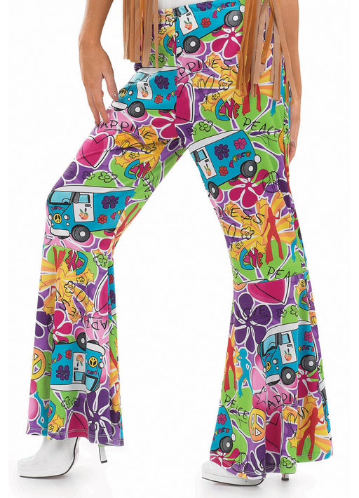 Hippie Patterned Flares