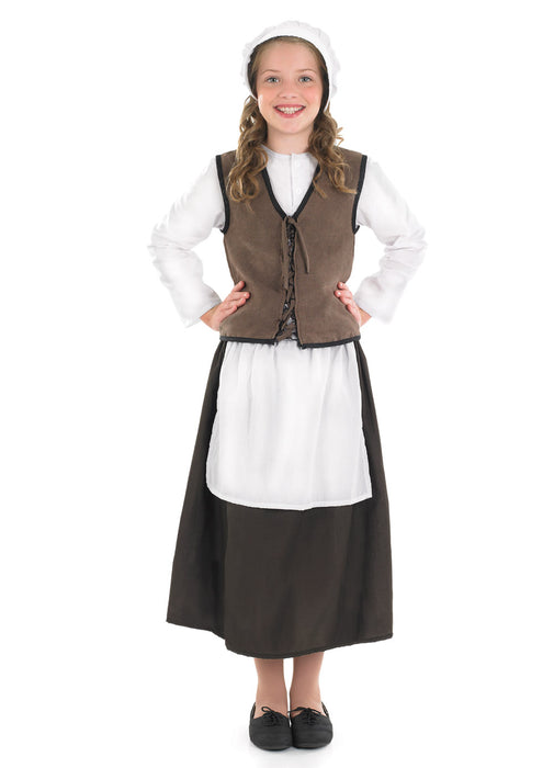 Tudor Kitchen Girl Costume Child