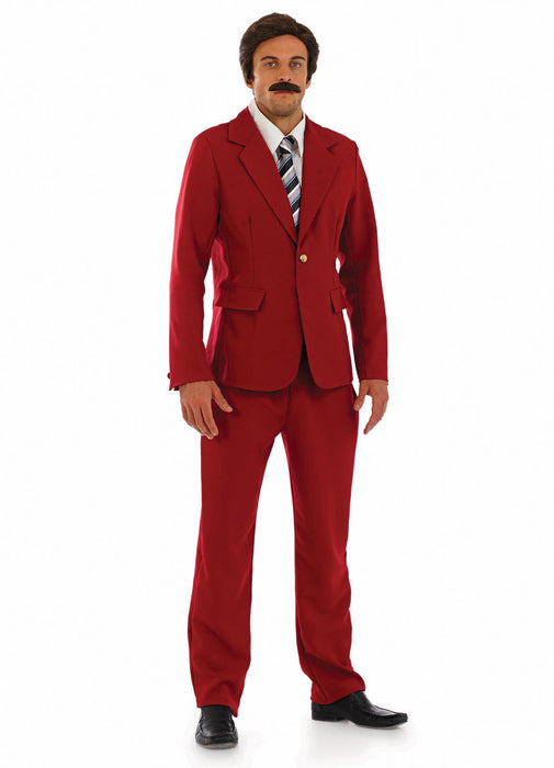 News Reader Anchorman Costume Adult