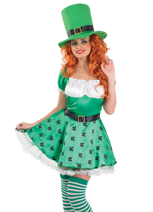 Sexy Leprechaun Costume Adult  sc 1 st  Party Britain & Sexy Leprechaun Costume Adult u2014 Party Britain