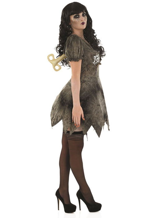 Wind Up Deadly Doll Costume Adult