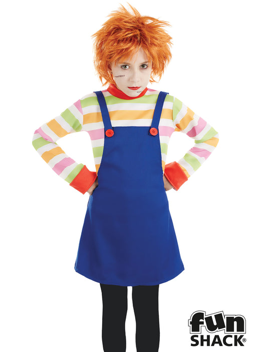Evil Dummy Girl Costume Child