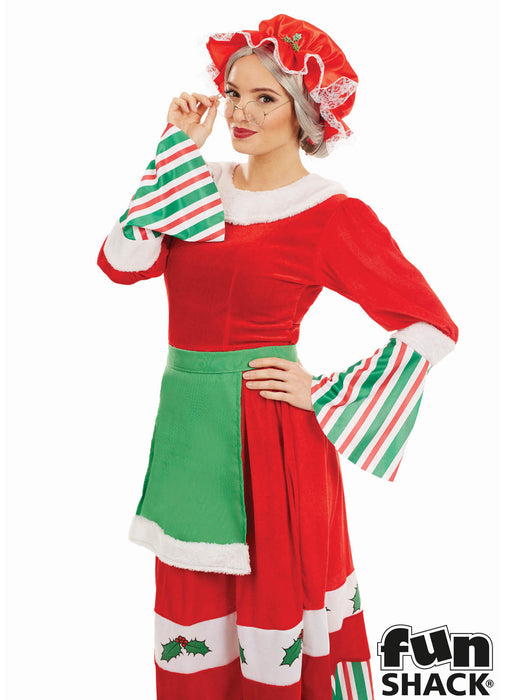 Traditional Mrs Claus Costume