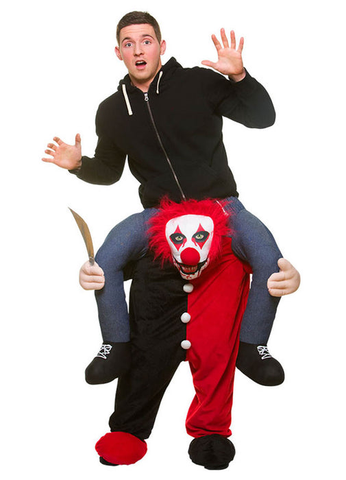 Carry Me Killer Clown Costume Adult