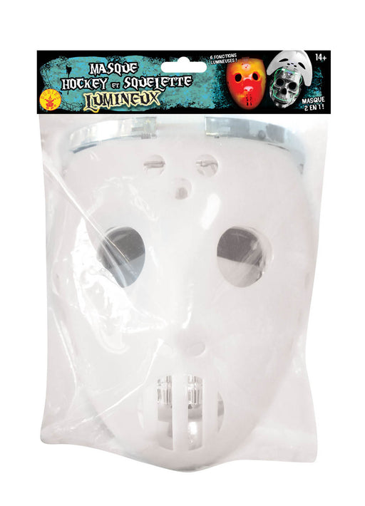 Light Up Hockey Mask