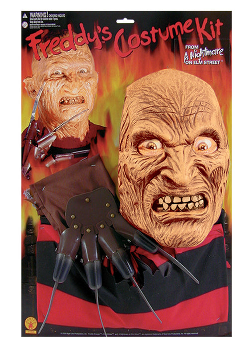 Freddy Krueger Costume Kit Adult