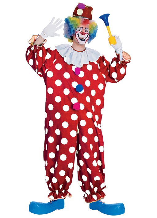 Dotted Clown Costume Adult