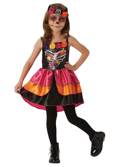 Sugar Skull Dress Child