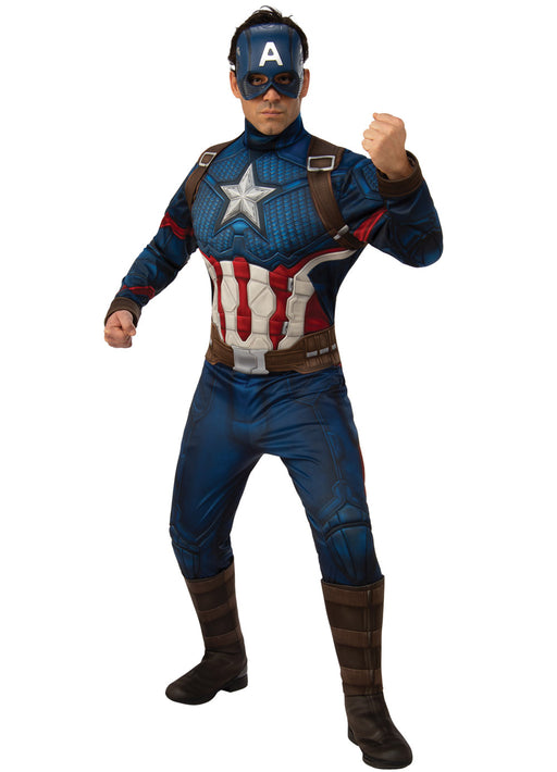 Captain American Endgame Costume Adult
