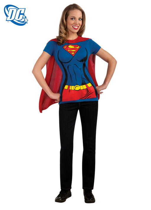 Supergirl T-shirt Set Adult