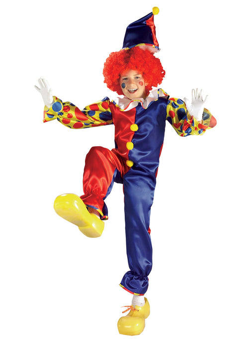 Bubbles The Clown Costume Child