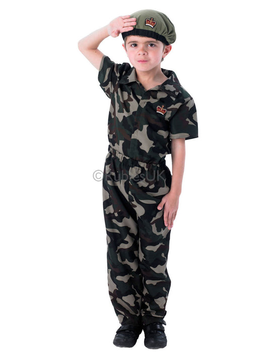 Soldier Boy Costume Child