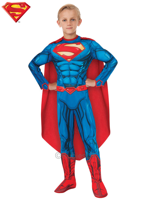 Superman Muscle Chest Costume Child